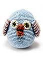 Pebble Pebble Çıngırak Baykuş Mavi